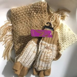 Rampage Scarf and mittens set